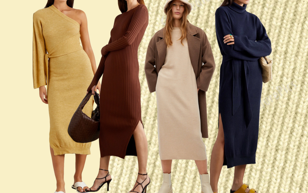 8 Knit Dresses We Are Buying For Fall
