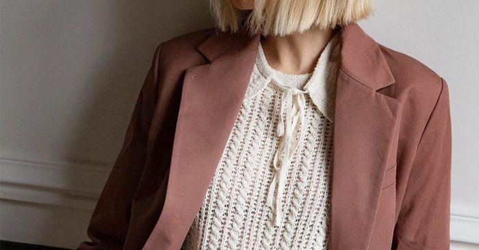 18 Trendy Collared Sweaters to Shop For Fall