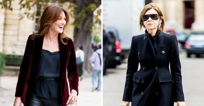 The 11 Most Fashionable Over-40 French Women